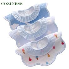 COZINESS Cotton Newborn Baby Saliva Towel Four Seasons Boys Girls Baby Feeding Waterproof Bib Bandana Bibs Hot Selling Wholesale