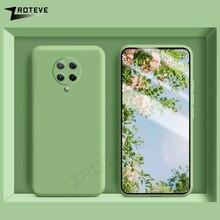 Poco F2 Pro Case Zroteve For Xiaomi Pocophone X3 M3 F3 Case Liquid Silicone Xiomi Pocofone F3 F2 M2 Pro Cover Poco X3 NFC Cases