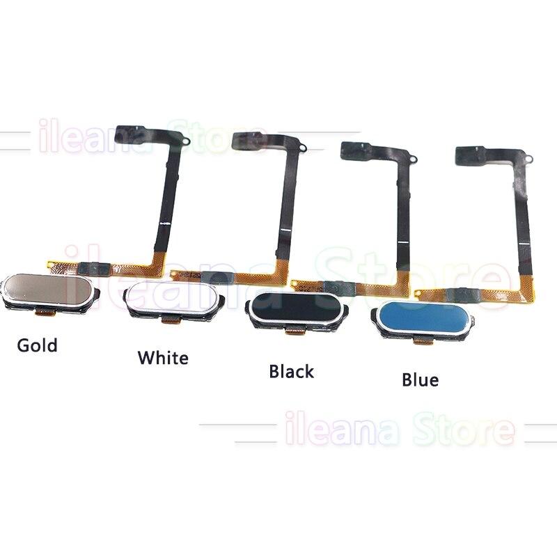 Original For Samsung Galaxy S6 Edge G920F G925F G9250 G9200 Original Back Home Button Fingerprint Sensor Flex Cable Part