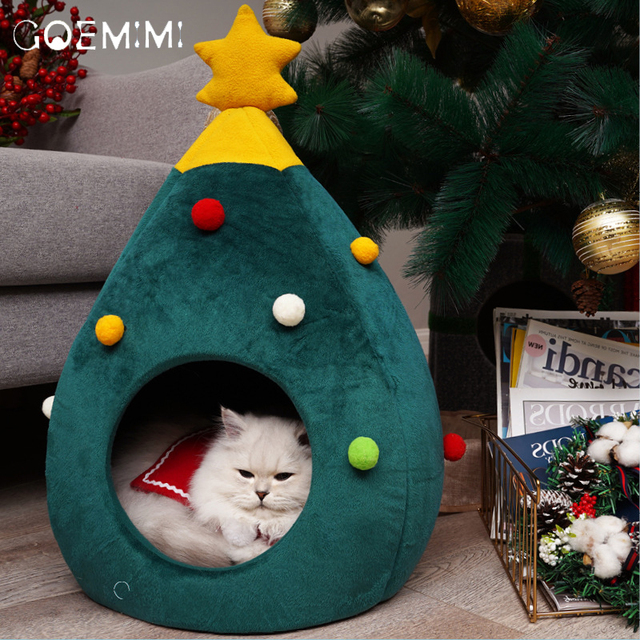 Christmas Tree Shape Winter Bed