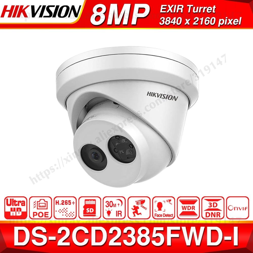 Hikvision Original 8MP IP caméra DS 2CD2385FWD I réseau CCTV caméra H.265 CCTV sécurité POE WDR SD fente pour carte-in Caméras de surveillance from Sécurité et Protection on AliExpress - 11.11_Double 11_Singles' Day 1