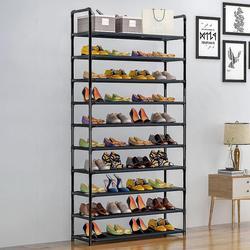 Armoire à chaussures à plusieurs niveaux, meuble de rangement, amovible, anti-poussière, pour la maison, dortoir, peu encombrant, HWC