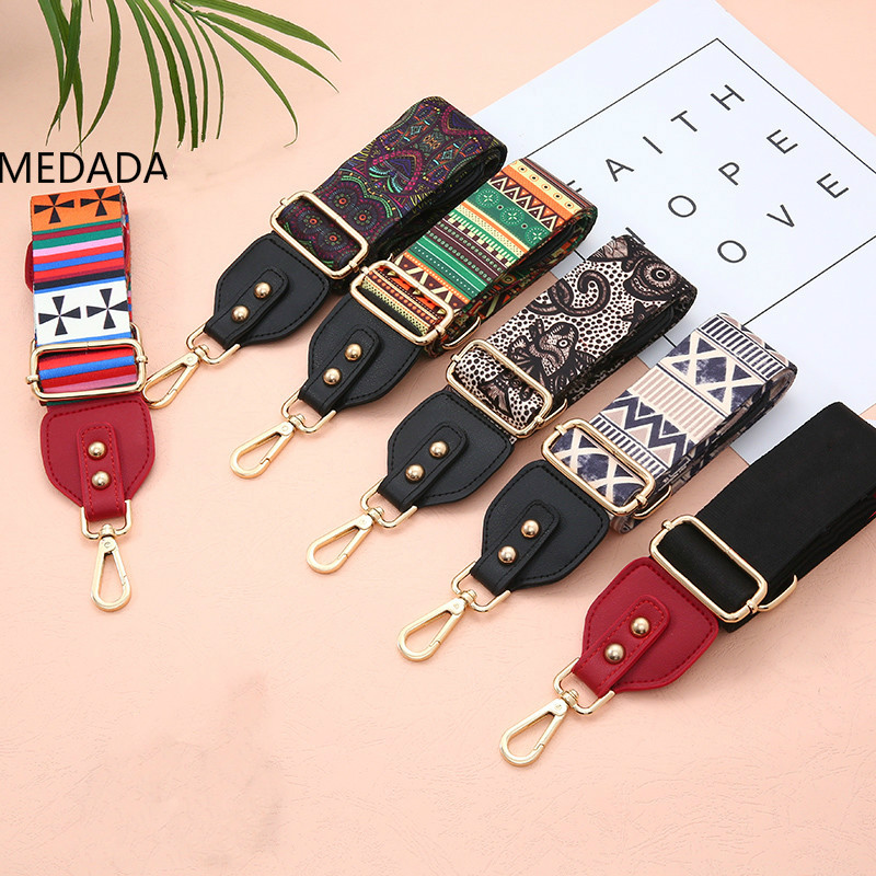 MEDADA Fashion Bag Handbag Belt Wide Shoulder Bag Strap Replacement Strap Accessory Bag Part  Belt For Bags Shoulder Adjustable