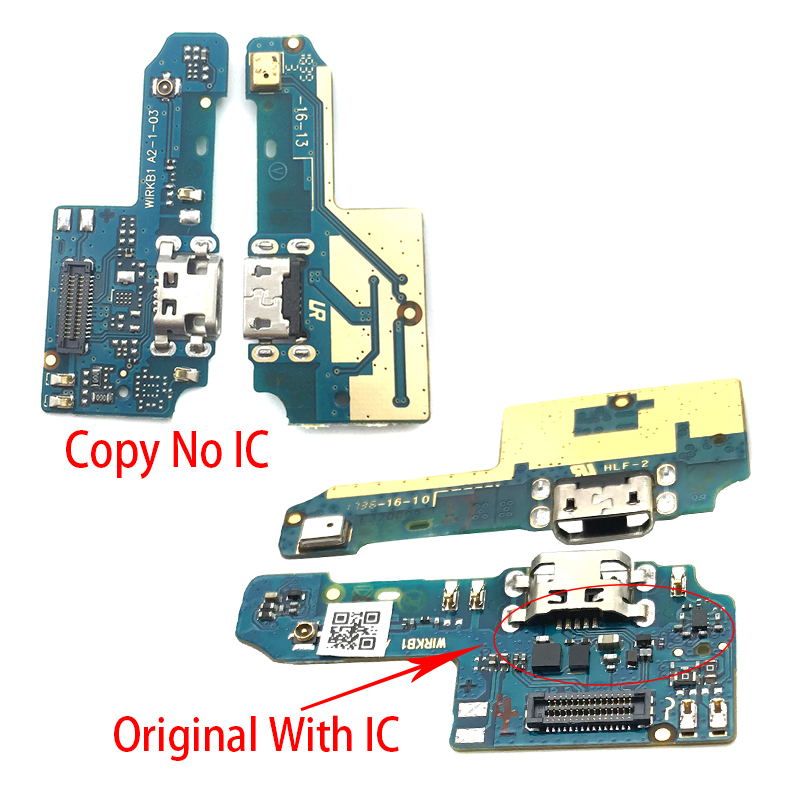USB Charging Port Mic Microphone Dock Connector Board Flex Cable Repair Parts For Asus Zenfone Max Plus M1 ZB570TL X018D