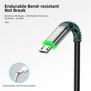 Кабель Micro USB LOVEBAY для быстрой зарядки Samsung S7 A8 Xiaomi 3 Android Redmi Note 5 Plus для Android кабель для передачи данных usbmicro