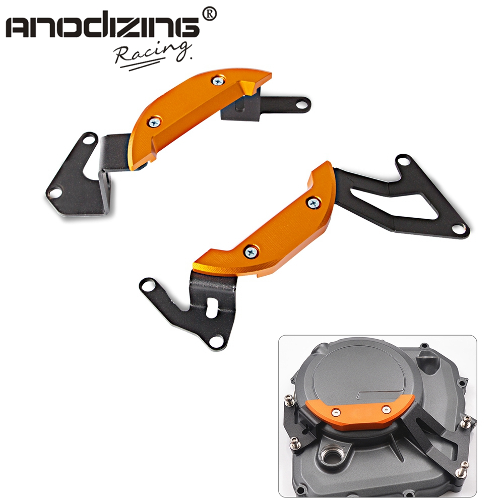 Motorcycle Engine Guard Protector Case Slider Cover Set For <font><b>KTM</b></font> <font><b>DUKE</b></font> 250 <font><b>390</b></font> RC <font><b>390</b></font> DUKE390 RC390 2016 <font><b>2017</b></font> 2018 2019 image