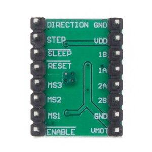 Image 5 - 100 sztuk A4988 moduł CNC 3D drukarki części akcesoria Reprap pololu moduł sterownika silnika krokowego z radiatorem dla ramps 1.4