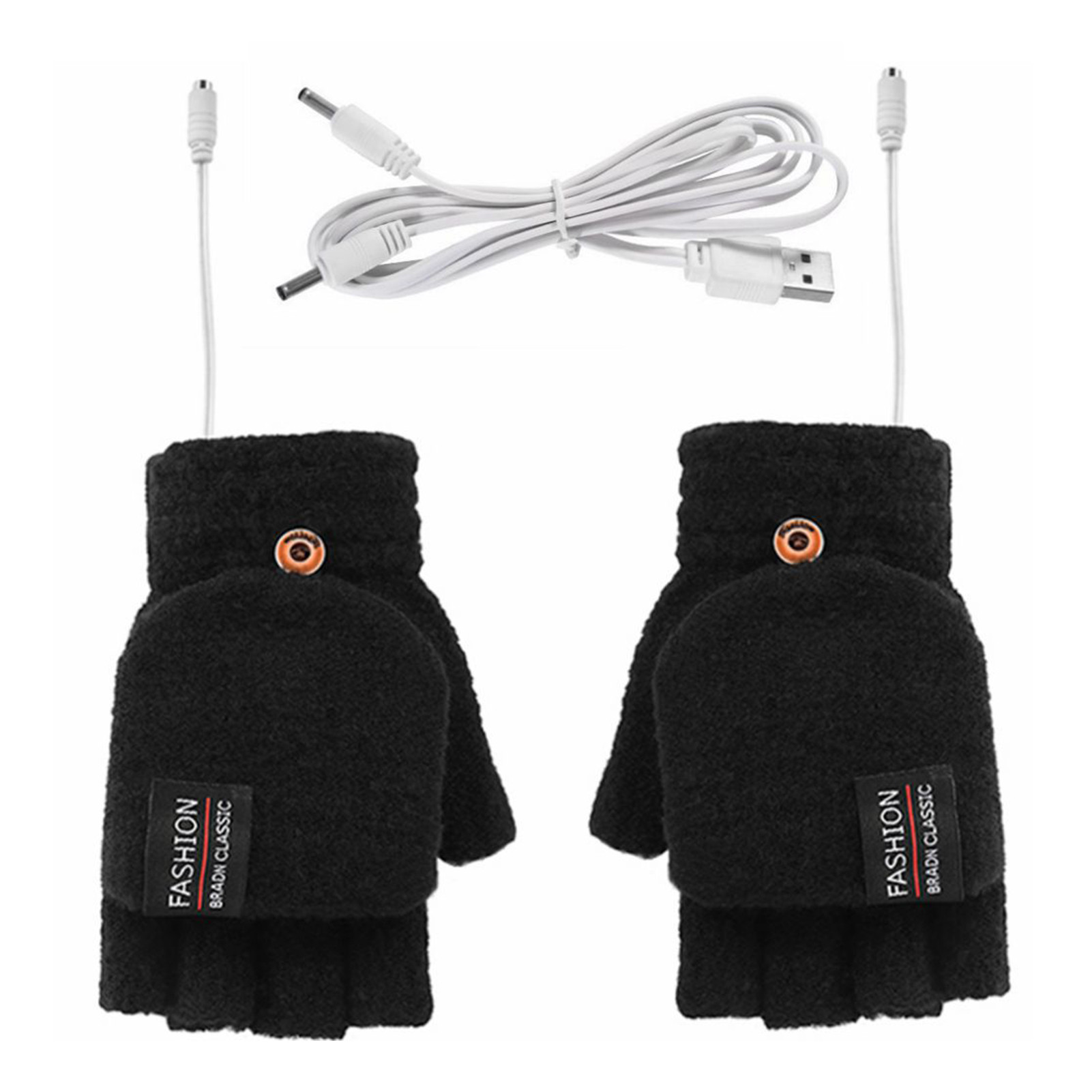Зимние перчатки с электроподогревом, перчатки с подогревом через USB, перчатки с электроподогревом, перчатки с подогревом