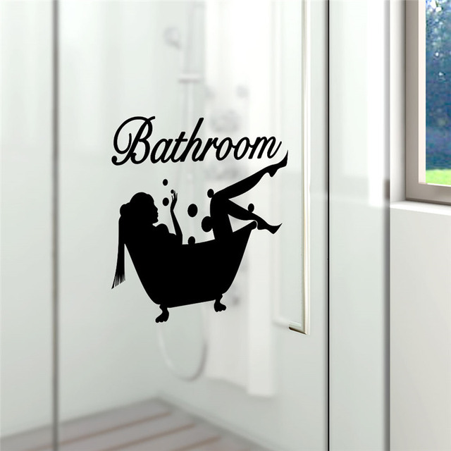 Bathing Bathroom Wall Sticker 4