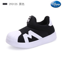 Disney children's shoes 2019 autumn new cartoon baby toddler shoes boys shell head non slip sports shoes girls functional shoes