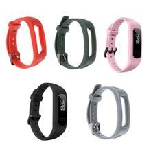 Banda de pulso pulseira pulseira tpu ajustável esportes substituição para huawei 3e/honor band 4 running versão