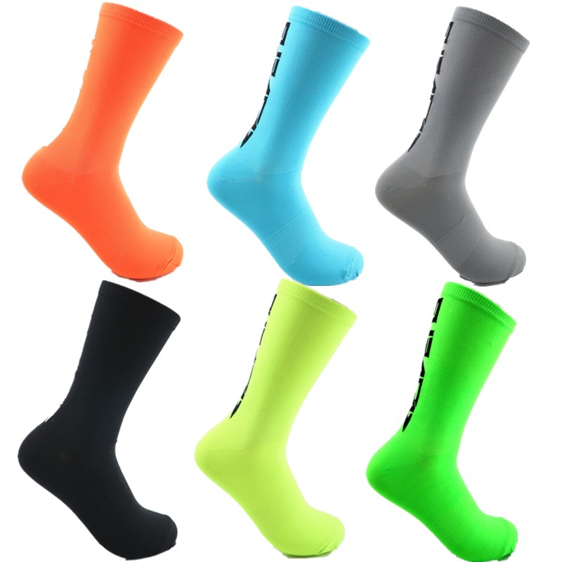YF&TT Socks Breathable Outdoor Sport Cycling Riding Socks Running Climbing Camping Basketball Socks 40-45