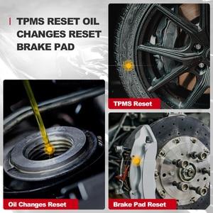 Image 3 - Thinkscan – outil de Diagnostic automobile Thinkscan 600, lecteur de Code OBD2, Scanner de voiture ABS/SRS, huile/TPMS/réinitialisation des freins, OBDII PK CR619 AL619