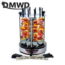 Электрический барбекю гриль-машина для приготовления шашлыка автоматический вращающийся барбекю бездымный духовой шкаф жаркое домашнее ягненка шампуры нагревательная плита