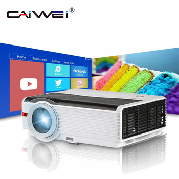 Caiwei A9/A9AB Smart Android WiFi LCD LED 1080p Projector Home Cinema Full HD Video Mobile Beamer Smartphone TV Miracast Airplay