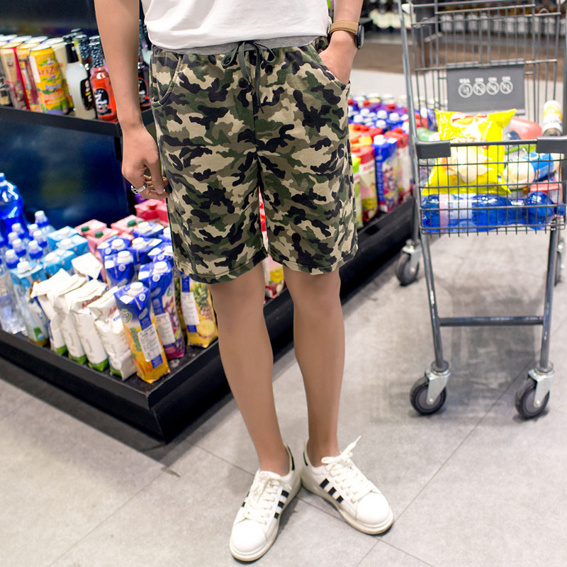 2016 Summer Men Casual Beach Shorts Loose-Fit 5 Shorts Men Camouflage Shorts Slim Fit Shorts Fashion
