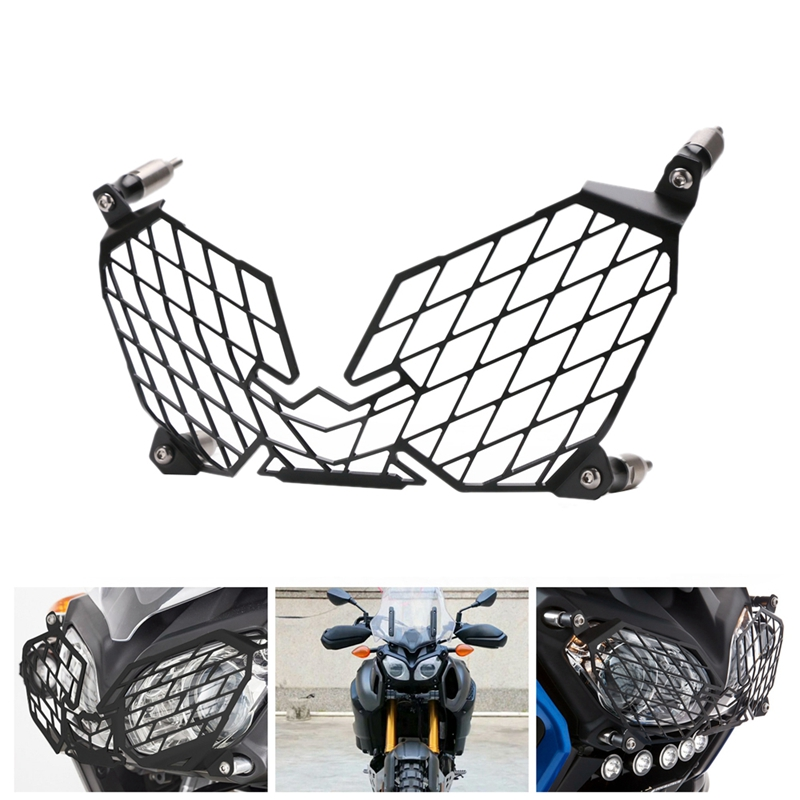 for YAMAHA XT1200Z XT 1200 Z Super Tenere 2010-2018 Motorcycle Modification Headlight Grille Guard Cover Protector 4