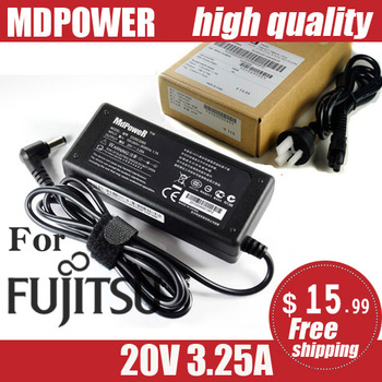 Do obsługi Fujitsu SIEMENS 20V 3 25A PA-1650-65 ADP-65HB AD S26113-E519-V55 Li3710 zasilacz laptopa Adapter AC przewód ładowarki tanie i dobre opinie MLLSE 20 v Dla fujitsu 20V-3 25A Other Direct charge