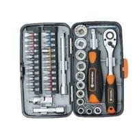 Mini 38pcs/set Ratchet Wrench Combination Hardware Tool Set Household Tools Box Bicycle Repair Tools