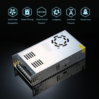 24V 15A Switching Power Supply Power Source Transformer 24V 15A 360W LED Transfer 24V Source Adapter SMPS Driver