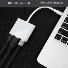 Dock-Tv-Dock Switch Nintendo Phone Usb-C Type-C Macbook for Portable To 4K Hdmi-Compatible
