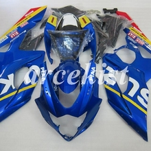 ABS пластик полный Обтекатели набор для Suzuki GSXR1000 GSXR-1000 K5 05 06 год 2005 2006 Корпус мотоцикла Cowling+ крышка бака