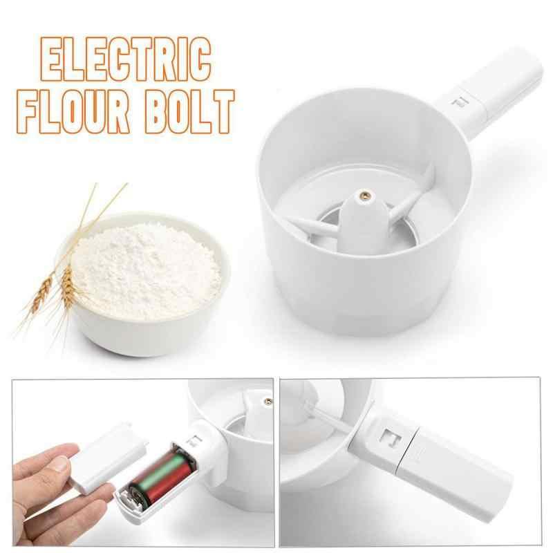 farine et caf/é en poudre 1 pi/èce tamis /à farine portable Elibeauty Tamis /à farine pour p/âtisserie outil de cuisson pour sucre