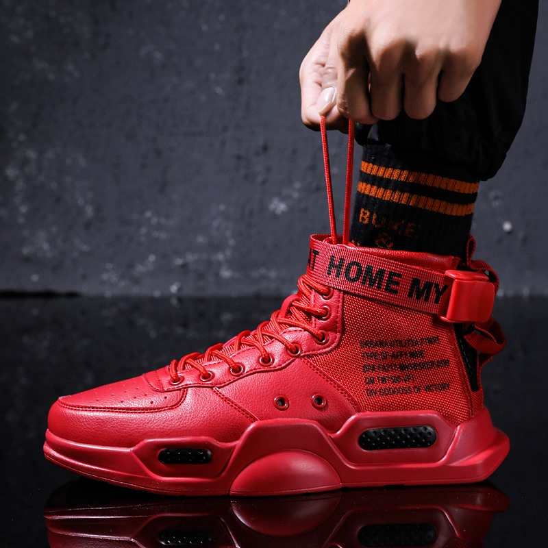 Autumn Winter Unisex Big Size 46 Shoes Men Sneakers Hip Hop Boats Shoes Male High Top Lace Up Men Casual Shoes Zapatos De Mujer
