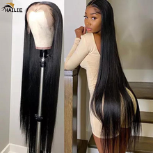 Peruvian Straight Human Hair Wigs For Women 13X4 Lace Frontal Wig Natural Hairline Body Pre-plucked Lace Front Wigs