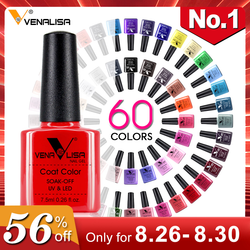 Venalisa Polish Varnish Manicure Nail-Art-Design Lacquer Enamel-Gel Soak-Off New