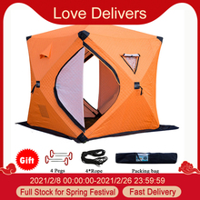 SHELTER-TENT Camping-Tent Ice Fishing Winter Portable Easy-Set-Up Waterproof