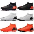 Уличная обувь для мужчин и мальчиков  футбольные бутсы  детские бутсы до щиколотки  спортивные кроссовки  размер 35-46  Прямая поставка