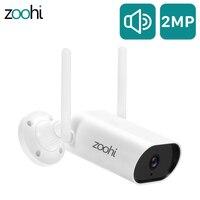Zoohi 1080P HD IP cámara de vídeo de exterior vigilancia Wireless Wifi de seguridad cámara de visión nocturna de Audio de dos vías Cámara Wi-Fi