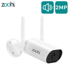 Zoohi 1080P HD IP Camera Outdoor Video Surveillance Wireless Wifi Security Camera Night Vision Two-Way Audio Wi-fi Camera
