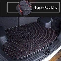 SJ автомобильный коврик для багажника, поднос для багажника, авто коврик для пола, коврик для багажа, коврик для багажа, подходит для Volkswagen VW ...