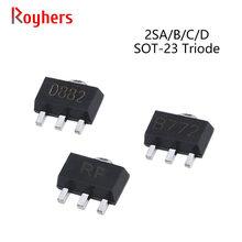Transistor 2SB806 2SB772 2SA1020 2SC2873 2SC3357 2SD1898 2SAR553 SOT-89 NPN PNP IC Power-Triode