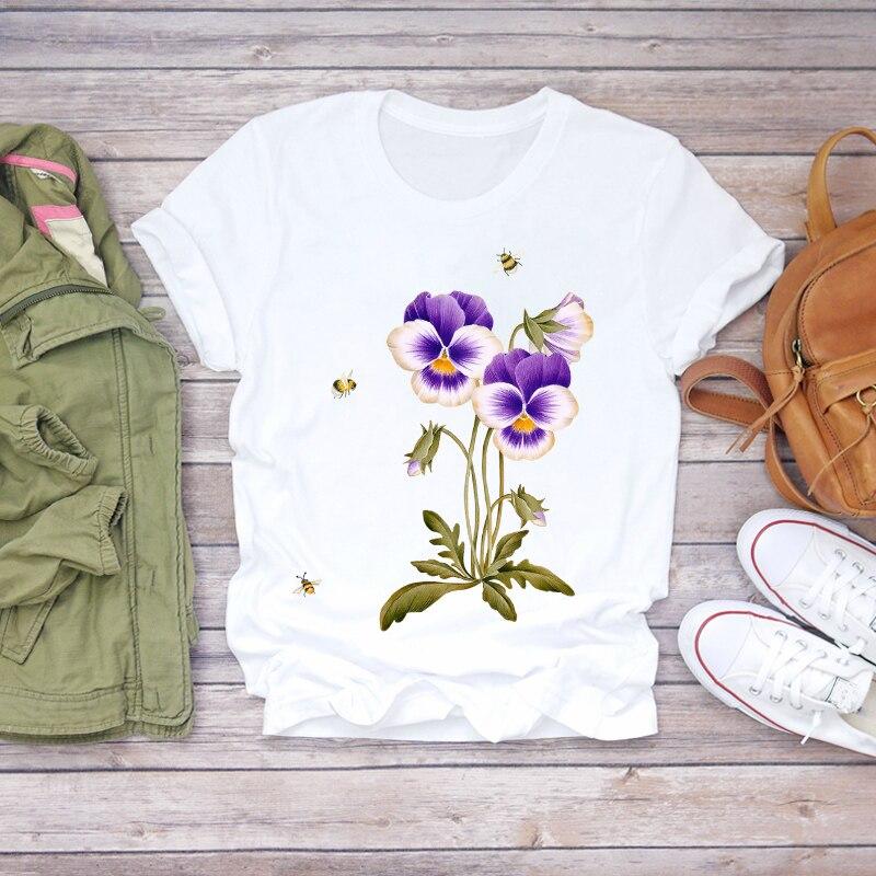 Купить футболка женская летняя с коротким рукавом топ графическим принтом