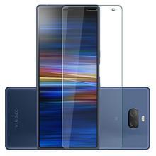 9H HD закаленное стекло для sony Xperia 10 Plus 5 XZ4 L3 XZ3 XA2 Plus XA2 XA3 Защитная пленка для экрана очень высокого качества