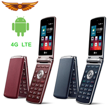 LG Wine Smart H410 4GB 1GB LTE/GSM/WCDMA Dual Core 3mp Refurbished Flip-Cellphone Unlocked
