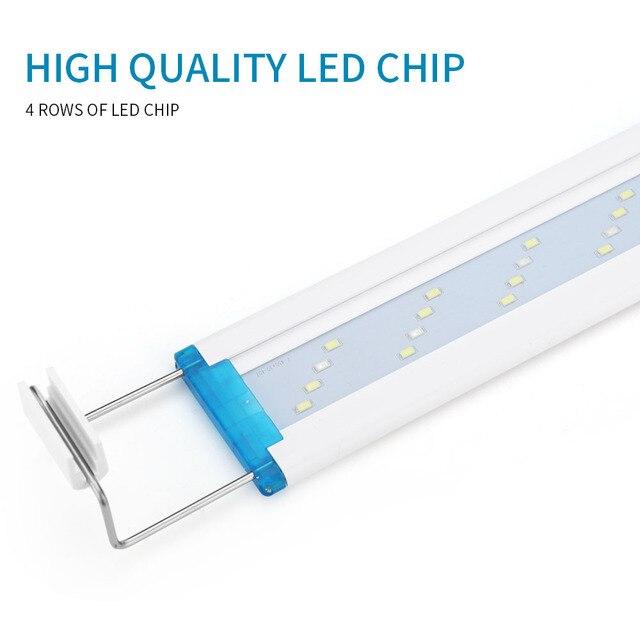 Super Slim Adjustable LED Fish Tank Lighting 3