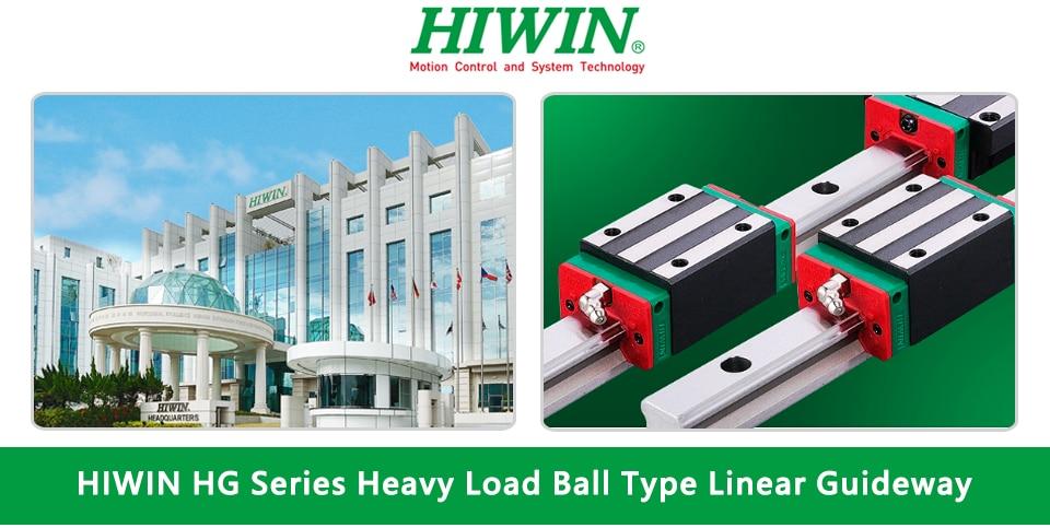 Оригинальная линейная направляющая hiwin hgh20ca hgw20cc блок