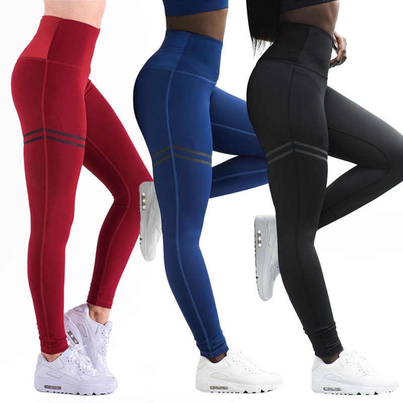 กางเกงกีฬาผู้หญิงเซ็กซี่ Push Up GYM Leggings กีฬาผู้หญิงวิ่ง Tights Skinny Joggers กางเกง GYM กางเกงนุ่ม