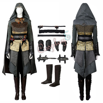 Sophia Rikkin Costume di Assassin 'S Creed Cosplay di Halloween Set Completo