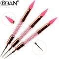 BQAN 1 шт. розовое золото двухсторонний инструмент для ногати расставить комплекс ручка с украшением в виде кристаллов ручка для бисера гвозд...