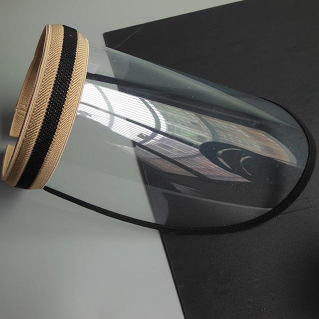 UV Protection Sun Hat Women's Anti-spray Saliva Empty Top Hat Mask Screen Isolation Breathable Mask Shield 3