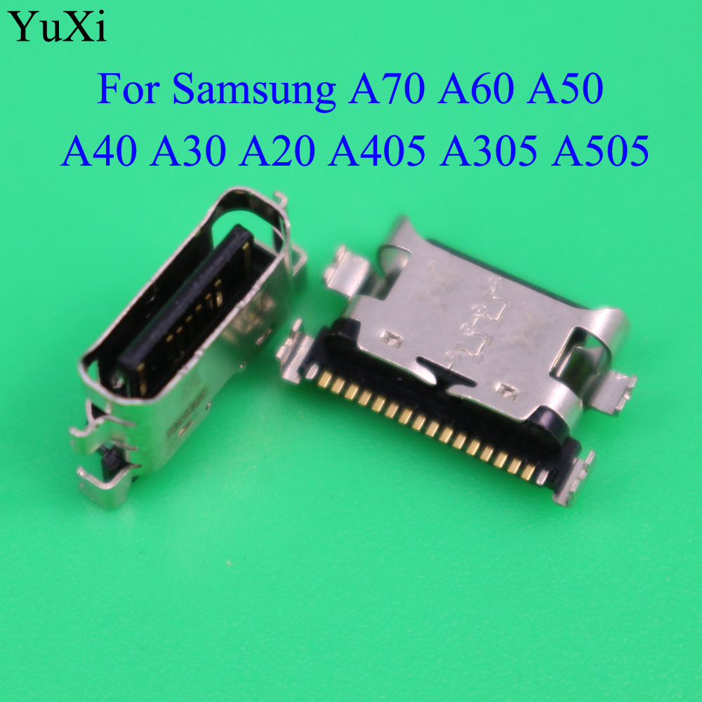 For Samsung Galaxy A70 A60 A50 A40 A30 A20 A405 A305 A505 Micro USB Connector Jack Socket Dock Charging Port Charger Repair Part