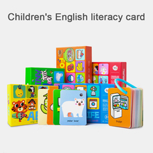 1PCS English & Chinese Kids Book Characters Cards Learn Chinese Words with Pinyin Books for Children Color Art Education Books все цены