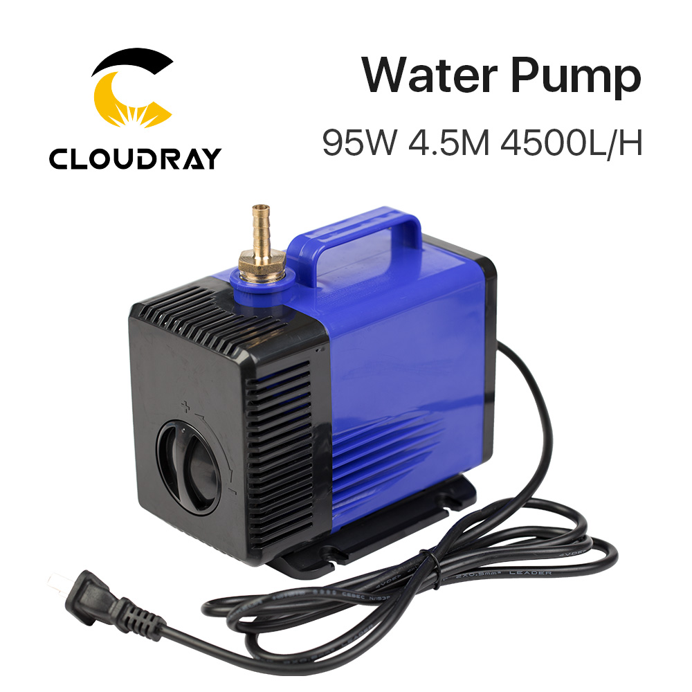 Submersible Water Pump 95W 4.5M 4500L/H IPX8 220V For CO2 Laser Engraving Cutting Machine