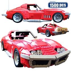 Moc cidade clássico técnica supercarro diy modelo blocos de construção criador carro esportivo compatível tijolos montagem brinquedos para crianças meninos