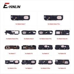 Buzzer arrière Module Ringer Haut-parleur Haut-Parleur Haut-Haut Haut-Parleur Flex Câble Pour XiaoMi Redmi Note 7 6 5 Pro Plus 7A 6A 5A S2